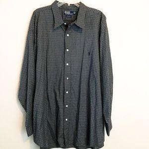 Polo Ralph Lauren Long Sleeve Dress Shirt 3X Big